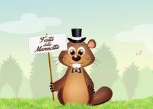De Dag van Groundhog Royalty-vrije Stock Afbeelding