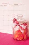De dag van heilige Valentine - 14 van februari Royalty-vrije Stock Foto's