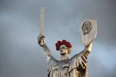 De dag van herinnering en verzoening in Kiev royalty-vrije stock afbeelding