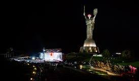 De dag van herinnering en verzoening in Kiev royalty-vrije stock foto