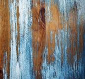 de dag van het achtergrond muur macroclose-up houten blauwe kleuren oude antiquiteiten Stock Foto