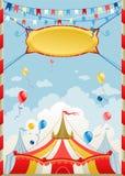 De dag van het circus Stock Afbeelding