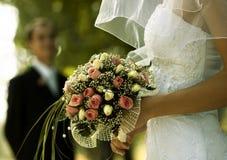 De dag van het huwelijk royalty-vrije stock afbeeldingen