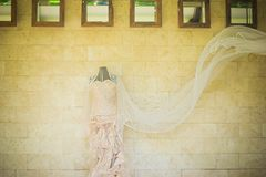 De dag van het huwelijk Stock Foto