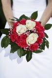 De dag van het huwelijk boquet Stock Foto's
