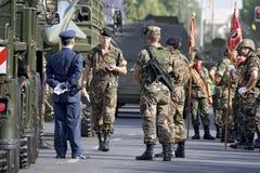 De Dag van het leger Stock Foto