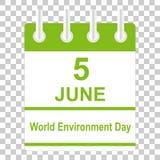 De Dag van het Milieu van de wereld Vector Illustratie