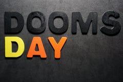 De dag van het noodlot royalty-vrije stock afbeelding