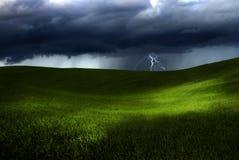 De dag van het onweer Stock Foto