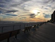 De dag van het strand Stock Afbeeldingen