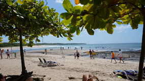 De dag van het strand Stock Afbeelding