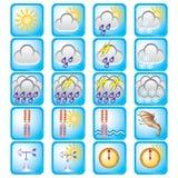 De dag van het weer Stock Fotografie