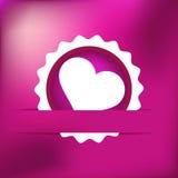 De dag van huidig Valentine van de hartgift. EPS8 Stock Fotografie