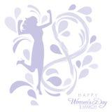 De Dag van internationale Vrouwen Stock Foto