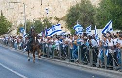 De dag van Jeruzalem Stock Fotografie