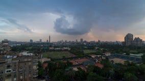 De dag van Kaïro aan nacht timelapse stock footage