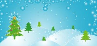 De dag van Kerstmis, vector Stock Fotografie