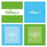 De Dag van kinderen Stock Afbeeldingen