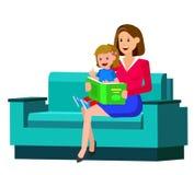 De dag van kinderen, kind stock illustratie