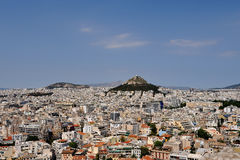 De dag van mei in Athene Stock Foto