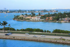 De dag van Miami, Florida Royalty-vrije Stock Afbeeldingen