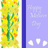 De Dag van moeders Stock Afbeeldingen