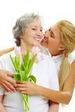 De dag van Mother?s Royalty-vrije Stock Foto's