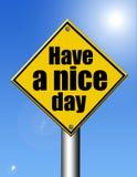 De dag van Nice Stock Afbeelding