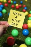 De dag van Nice Royalty-vrije Stock Fotografie