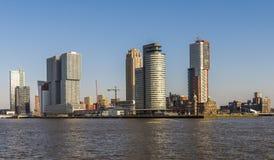De Dag van Rotterdam Wilhelminapier Royalty-vrije Stock Foto's