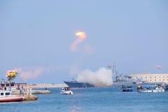 De Dag van Sebastopol van Vloot stock foto