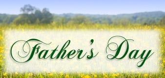 De Dag van vaders Stock Foto's