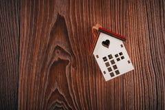 De dag van de valentijnskaart `s Huissymbool Royalty-vrije Stock Fotografie