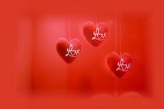 De Dag van valentijnskaarten Stock Foto's