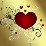 De Dag van valentijnskaarten Stock Afbeeldingen