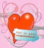 De Dag van Valentineâs Royalty-vrije Stock Afbeeldingen