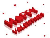 De dag van Valentineâs Stock Afbeeldingen