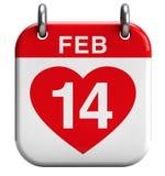 De Dag van Valentine Stock Afbeelding
