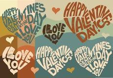 De Dag van Valentine, 14 Februari Stock Foto's