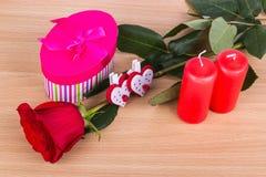 De Dag van Valentine: het concept liefde en huwelijk stock afbeelding