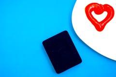 De dag van Valentine, punten op witte of heldere achtergrond stock foto's