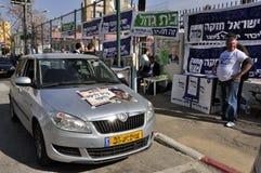 De dag van verkiezingen in Israël Royalty-vrije Stock Foto's