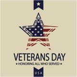 De dag van veteranen Royalty-vrije Stock Afbeeldingen
