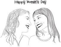 De dag van vrouwen Royalty-vrije Stock Foto's