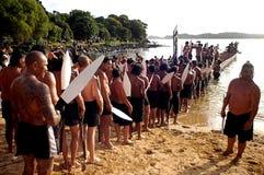 De Dag van Waitangi - de Officiële feestdag van Nieuw Zeeland Stock Afbeelding