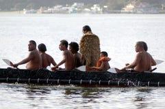 De Dag van Waitangi - de Officiële feestdag van Nieuw Zeeland stock foto's