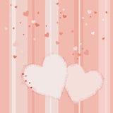 De dag vectorachtergrond van de valentijnskaart Royalty-vrije Stock Foto