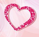 De dag vectorillustratie van valentijnskaarten stock illustratie