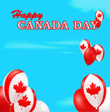 De Dagachtergrond van Canada Stock Foto's