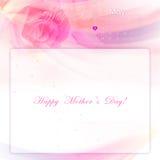 De dagachtergrond van de gelukkige moeder Royalty-vrije Stock Afbeelding